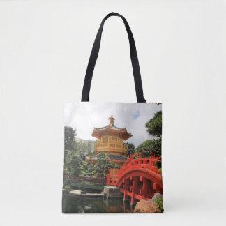 Chinese Pagoda Tote Bag