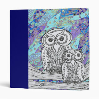 Chinese Paper Owls 2 Binder