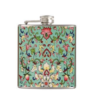 Chinese Pattern Flask