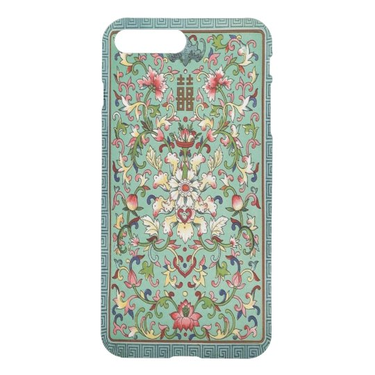 Chinese Pattern iPhone7 Plus Clear Case