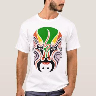 Chinese Peking Opera Mask - Pop Art T-shirt