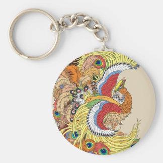 chinese phoenix keychain