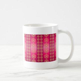Chinese Pink and Gold Coffee Mug