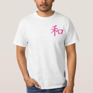Chinese Pink Peace Symbol T-Shirt