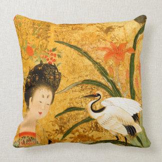 "Chinese princess, Throw Pillow 20"" x 20"""