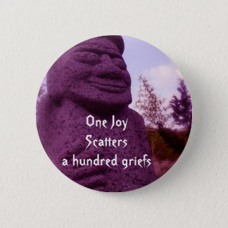 Chinese Proverb flair 2 Inch Round Button