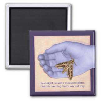 Chinese Proverb with surreal twist Magnet