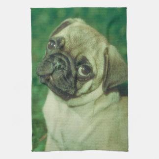 Chinese Pug Dog Kitchen Towel