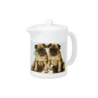 Chinese Pug Teapot