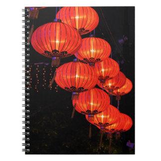 Chinese Red Lanterns Notebook