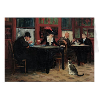 Chinese Restaurant by John Sloan Card