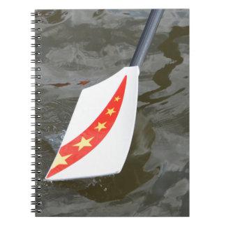 Chinese rowing oar notebook