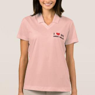 chinese shar love polo shirt