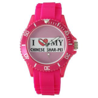 chinese shar love wrist watches