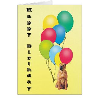 Chinese Shar-Pei Happy Birthday Card