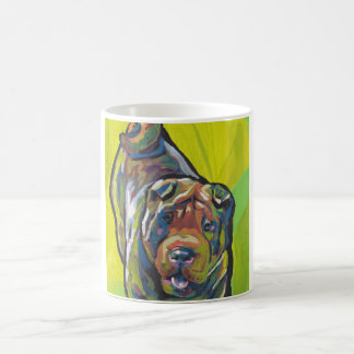 Chinese Shar Pei Pop Art Coffee Mug