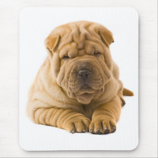Chinese Shar Pei Puppy Dog Love Mousepad
