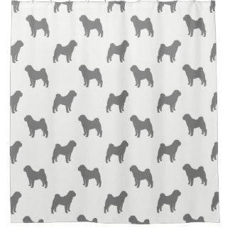 Chinese Shar Pei Silhouettes Pattern