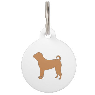 chinese shar silo color pet name tag