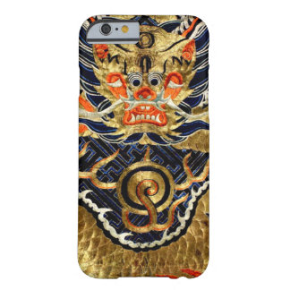 Chinese Silk Dragon Embroidery Barely There iPhone 6 Case