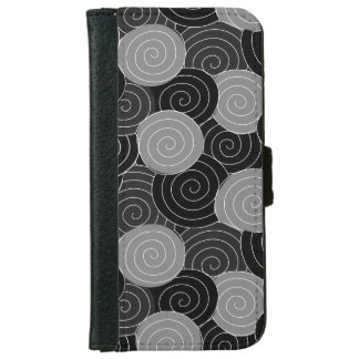 Chinese Spirals Geometric Pattern iPhone 6 Wallet Case