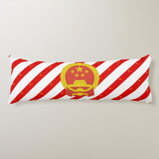 Chinese stripes flag body pillow