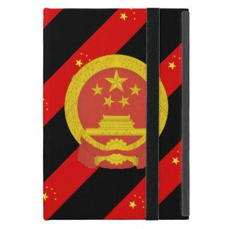 Chinese stripes flag iPad mini case