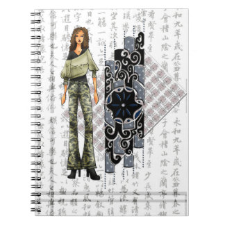 Chinese style notebooks