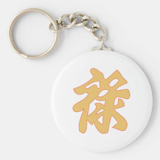 Chinese symbol Chinese wealth wealth Keychain
