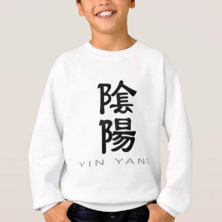Chinese Symbol for Yin Yang Sweatshirt