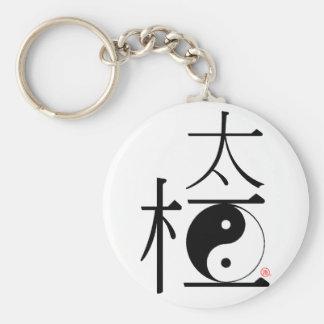Chinese Tai Chi Ying Yang Keychain