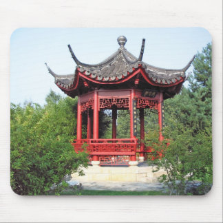 Chinese Teahouse Mouse Pad