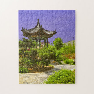 Chinese Temple hiding  Jigsaw Puzzle