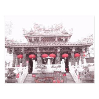 Chinese Temple in Yokohama, Japan Postcard