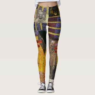 Chinese Terra Cotta Warrior leggings
