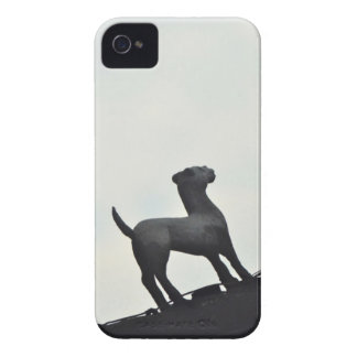 Chinese Terracotta Dogs Silhouetted On a Roof Case-Mate iPhone 4 Case