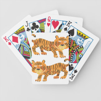chinese tiger. bicycle playing cards