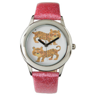 chinese tiger. wrist watch