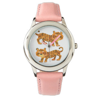 chinese tiger. wristwatch