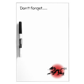 Chinese traditional dragon dry erase boards
