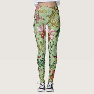 Chinese Vase Design Leggings