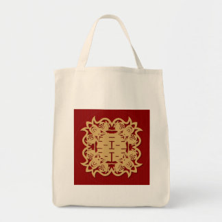 Chinese wedding double happiness bag