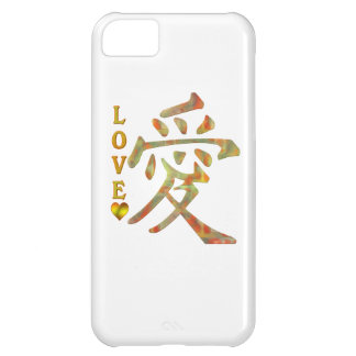 CHINESE WORD CHARACTER PICTOGRAM - LOVE CASE FOR iPhone 5C