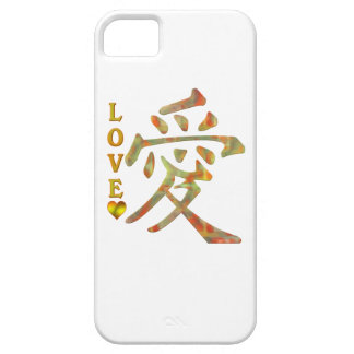 CHINESE WORD CHARACTER PICTOGRAM - LOVE iPhone 5 COVER