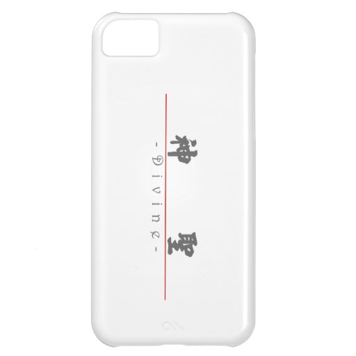 Chinese word for Divine 10364_4.pdf iPhone 5C Cases