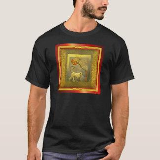 Chinese Year of Monkey w_Red Moon.jpg T-Shirt