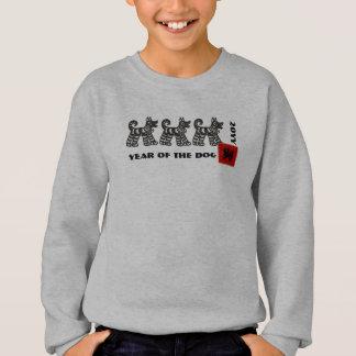Chinese Year of the Dog Kids Sweatshirts