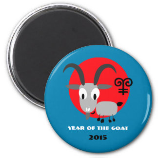 Chinese Year of the Goat Fun Gift Magnets