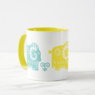Chinese Year of the Ram Fun Gift Mugs