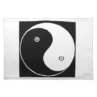 Chinese Yin Yang Symbol Placemat